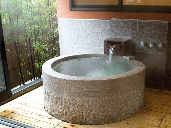 【豊徳】半露天風呂